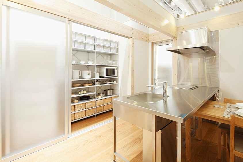 無印良品のキッチン1