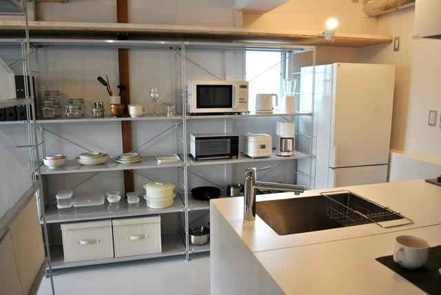 無印良品のキッチン5