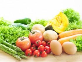 色々な野菜と卵