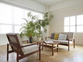 リビングと家具