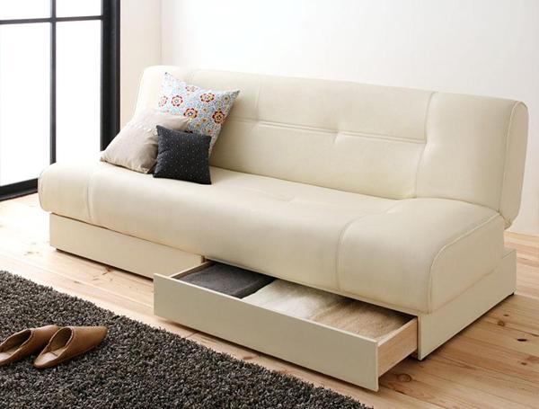 収納付きソファーベッド