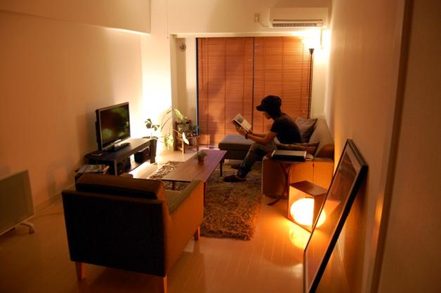 おしゃれな照明の部屋2