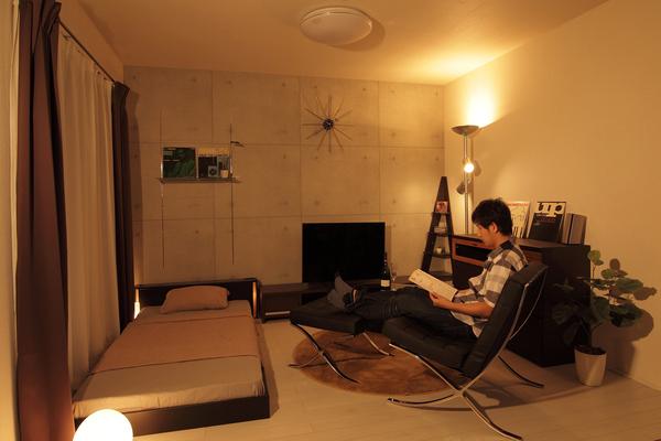 おしゃれな照明の部屋3