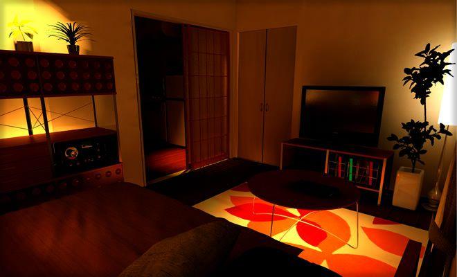 おしゃれな照明の部屋4