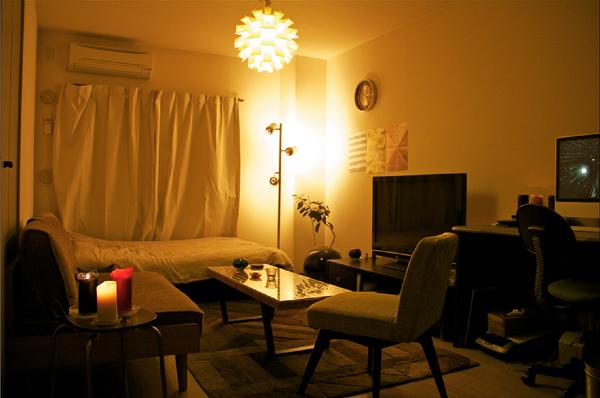 おしゃれな照明の部屋7